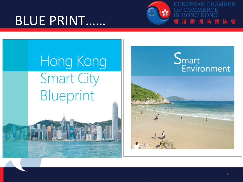 The Hong Kong Smart City Blueprint Under Review -presentation